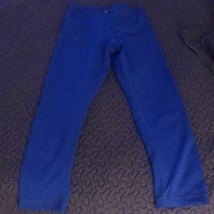 90 Degree By Reflex Pants - 90 degrees leggings blue xs high waist